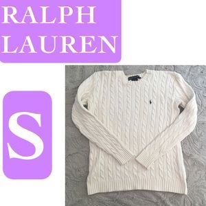 Classic Ralph Lauren Cable knit Sweater